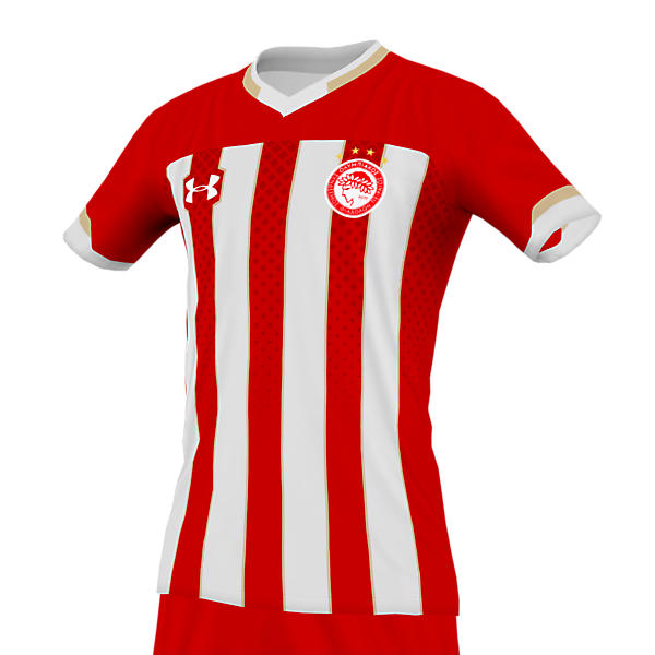 Olympiakos home x Under Armour (reupload)
