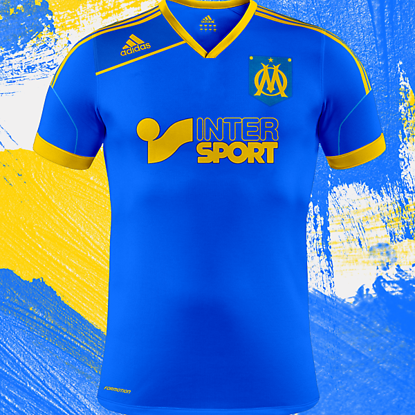 Olympique de Marseille Kit Design