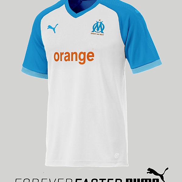 Olympique Marseille Home 2018/2019