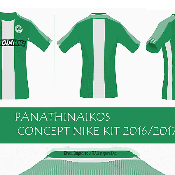 Panathinaikos Nike kit