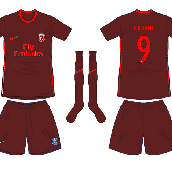 Paris Saint Germain Third Kit