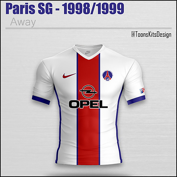 Paris SG - 1998/1999 Away