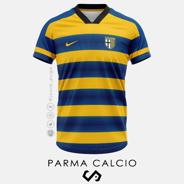 Parma Calcio Home Kit