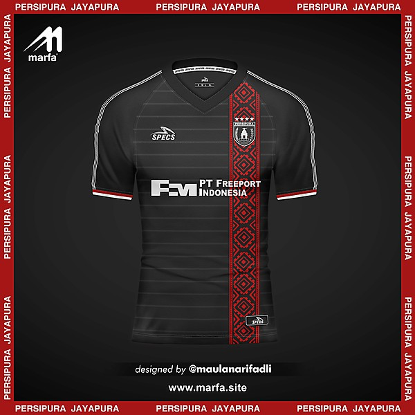 PERSIPURA JAYAPURA FANTASY 4th KIT CONCEPT