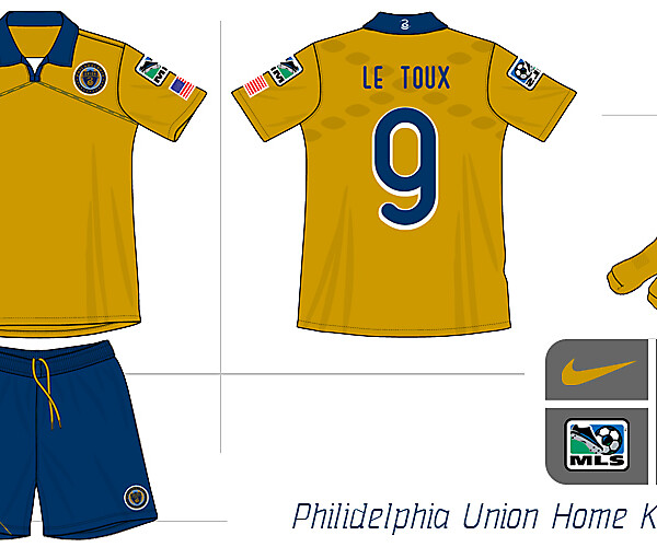 Philidelphia Union Home Kit Concept