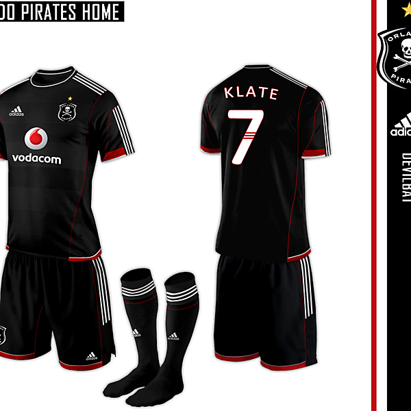 Orlando Pirates Home Adidas