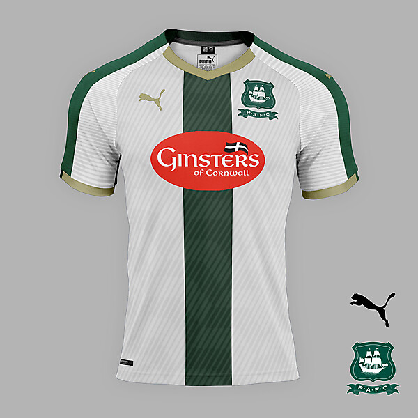 Plymouth Argyle away jersey