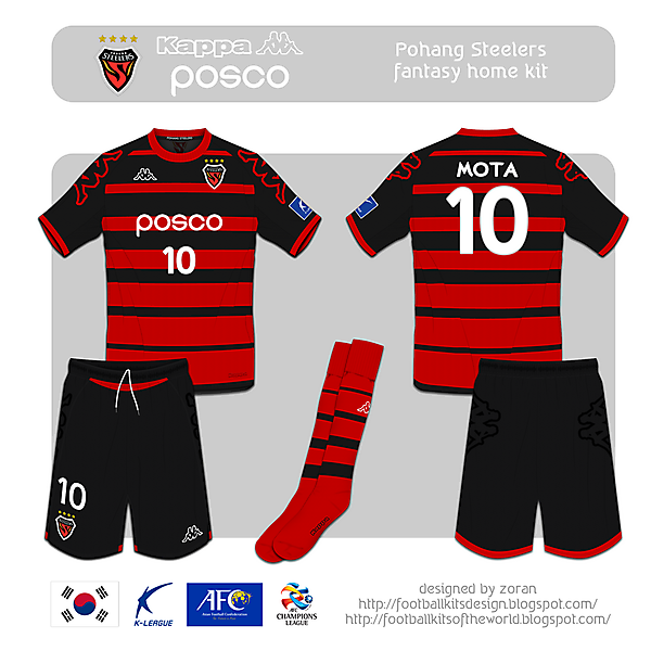 Pohang Steelers fantasy home