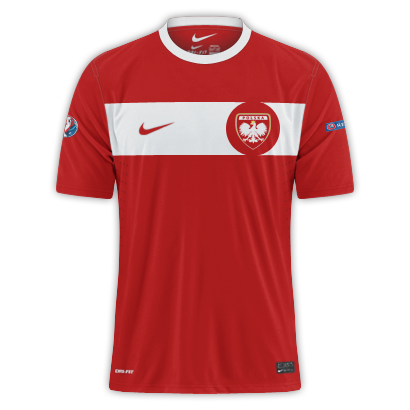 Poland - Euro 2016 Fantasy Away Shirt(with my crest)