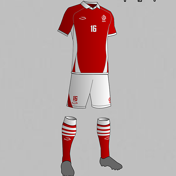 Poland National Football Team Away Kit 2016