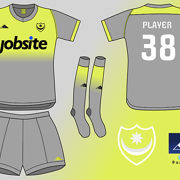 Portsmouth FC away kit