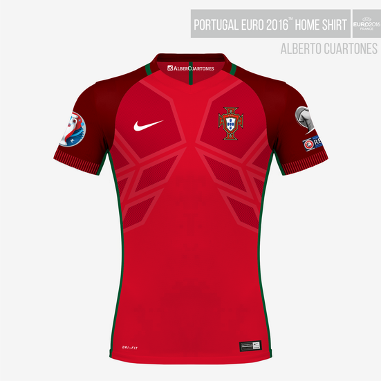 Portugal UEFA EURO 2016™ Home Shirt