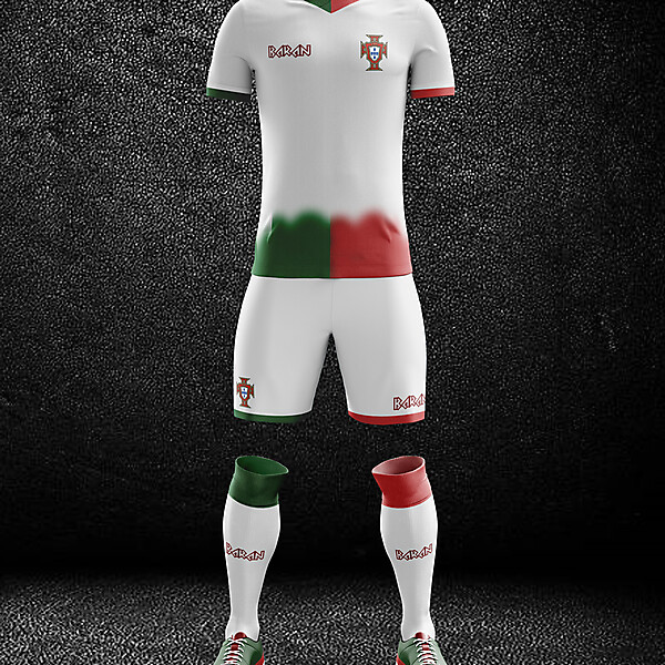 Portugal x Away Kit Design