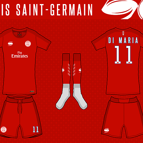 PSG - 2nd kit by STORM