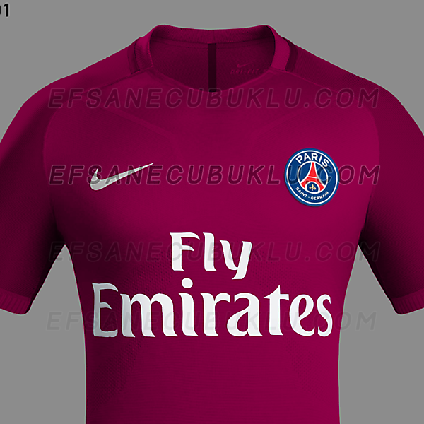 PSG 16/17 Away Shirt (Certain)