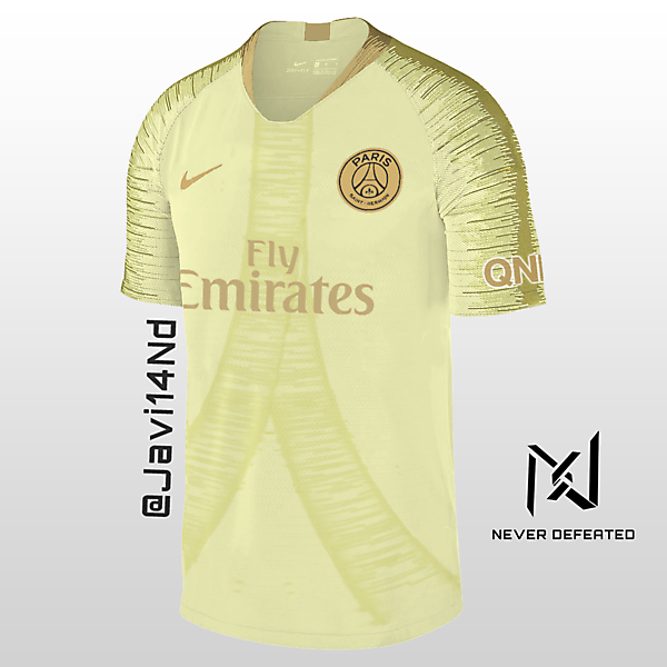 PSG 18 19 Away Kit