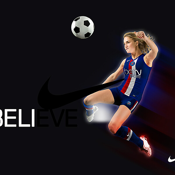 PSG 2014-2015 Women Kit