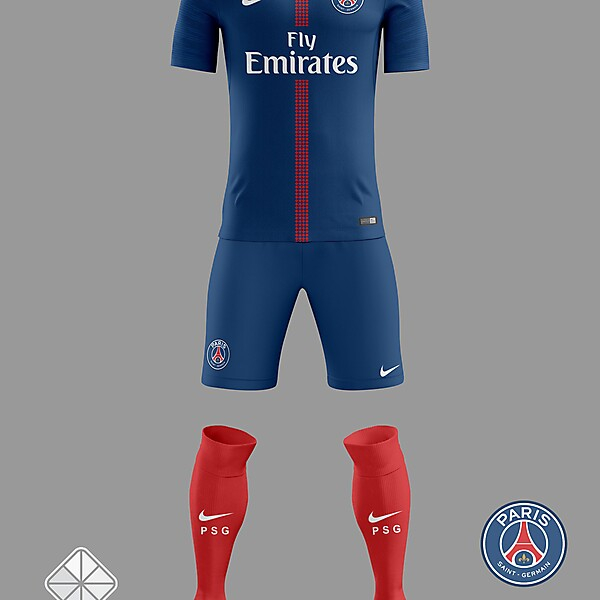 PSG 2018/2019 Home Jersey
