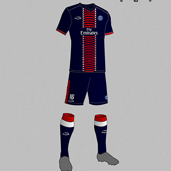 PSG (France) Home Kit 2016