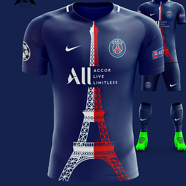 PSG Nike 2021 Home Kit