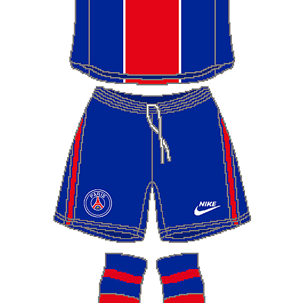 PSG Nike Home Kit