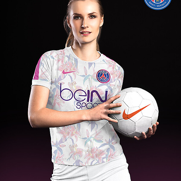 PSG Women Away - Nike kit 16-17