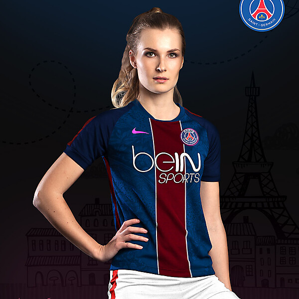 PSG Women Home - Nike kit 16-17