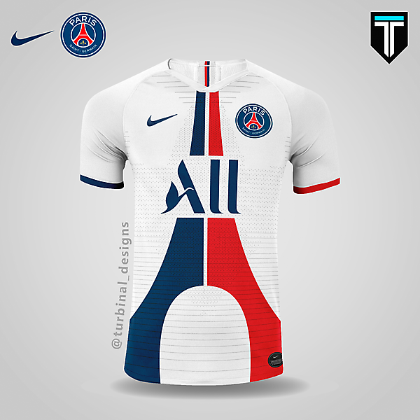 PSG x Nike - Away Kit