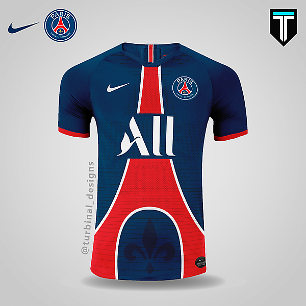 PSG x Nike - Home Kit