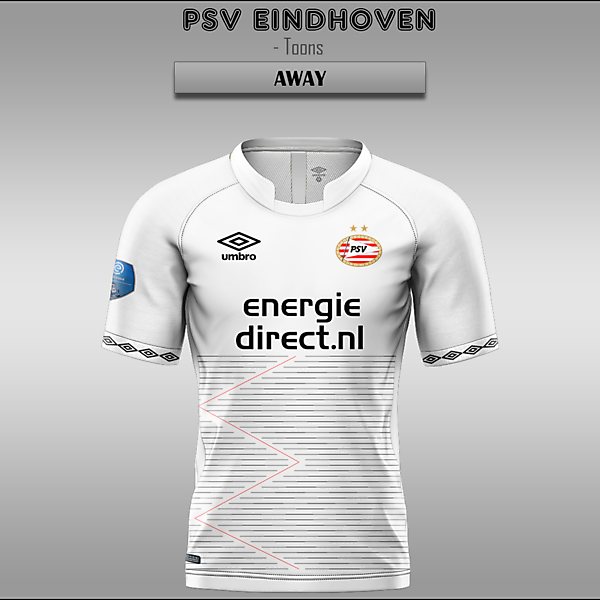 PSV Eindhoven -- Home/Away/Third
