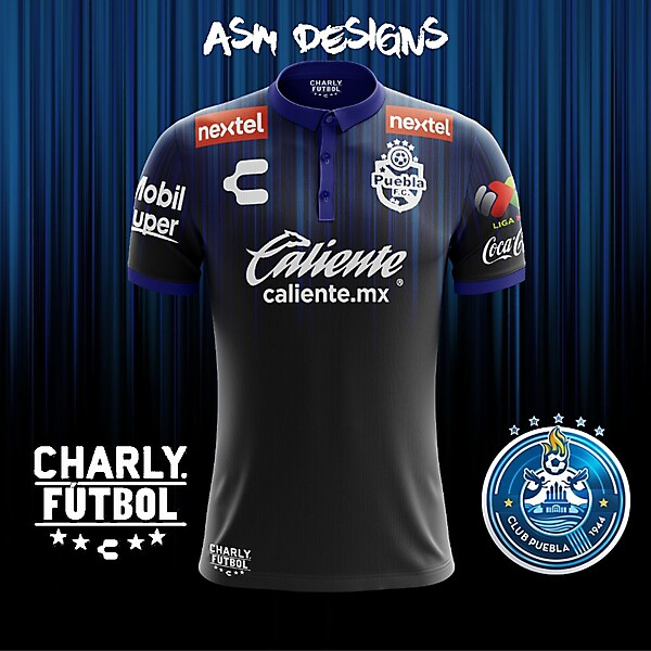 Puebla FC Charly 2018 Away Kit