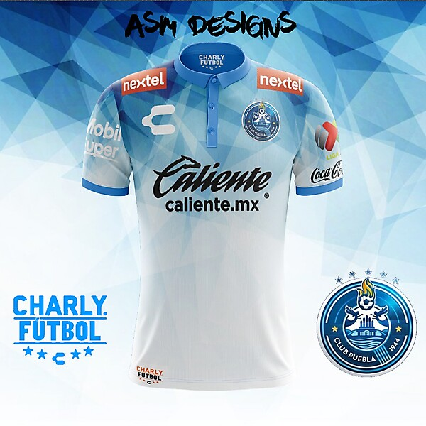 Puebla FC Charly 2018 Home Kit