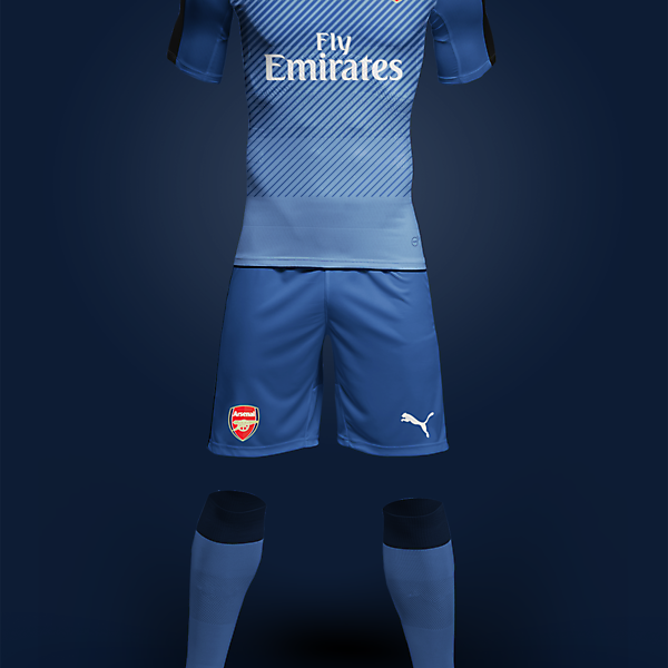 Puma Arsenal Away 2017-2018 Concept