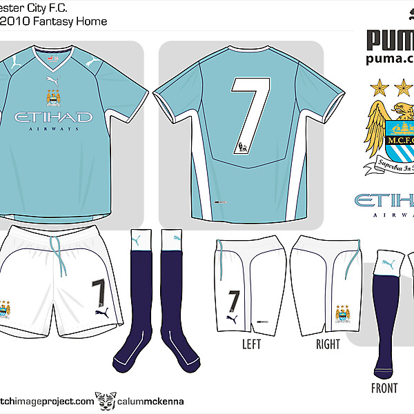 Man City fantasy Puma Home