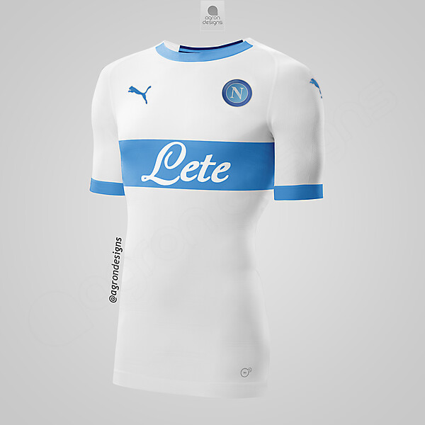 PUMA NAPOLI AWAY KIT CONCEPT