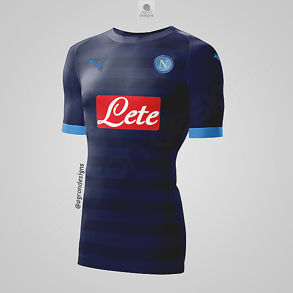PUMA NAPOLI THIRD KIT CONCEPT