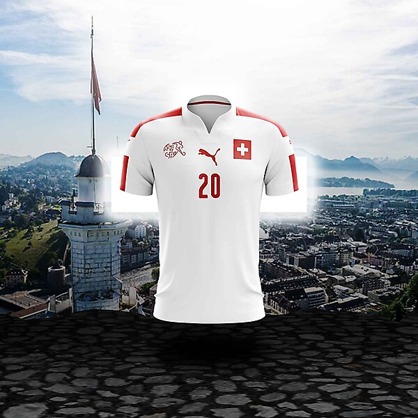 Puma x Switzerland  - Away