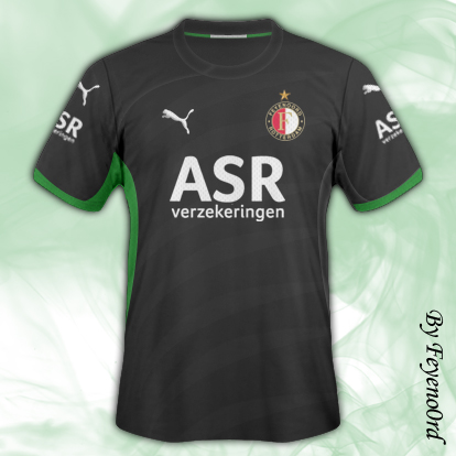 Feyenoord Away and Third