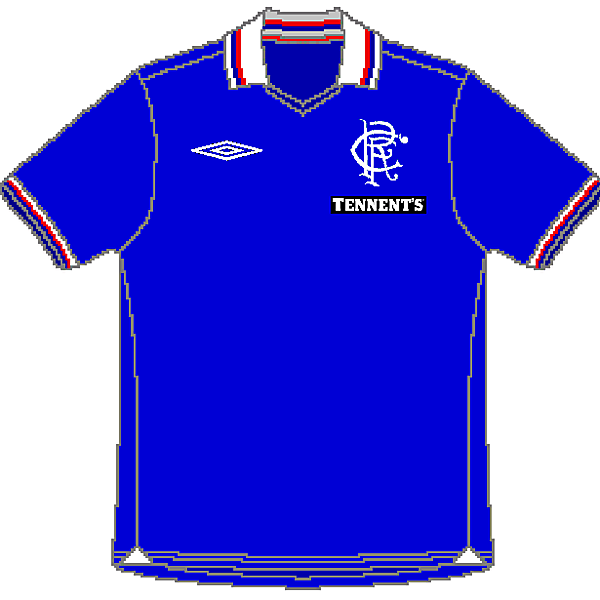 The Rangers FC Umbro Home