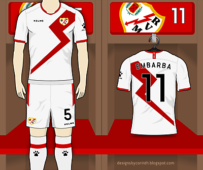 Rayo Vallecano Home | New Template Test