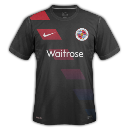 Nike Template with Reading Away kit