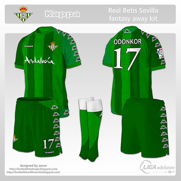 Real Betis Sevilla fantasy away