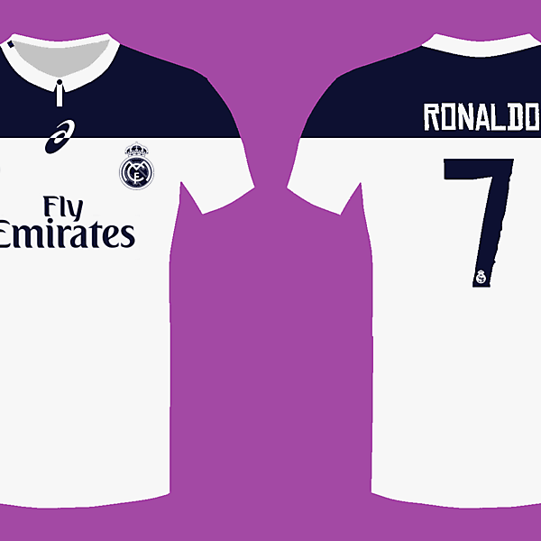 Real Madrid 14/15 kit by Asics