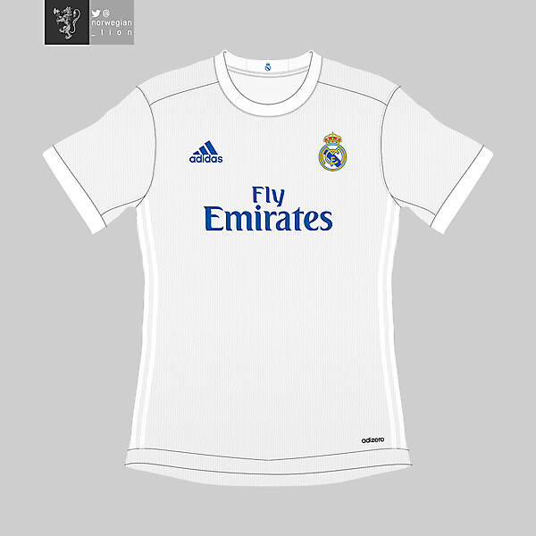 real madrid 16/17 concept