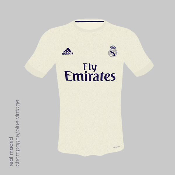Real Madrid 18/19 Champagne Vintage