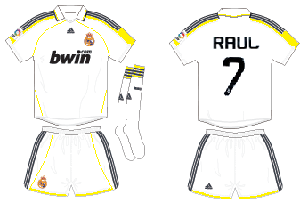 Real Madrid fantasy home shirt