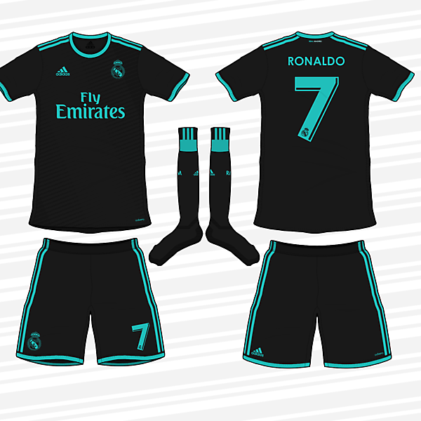 Real Madrid 2017/18 Away Kit