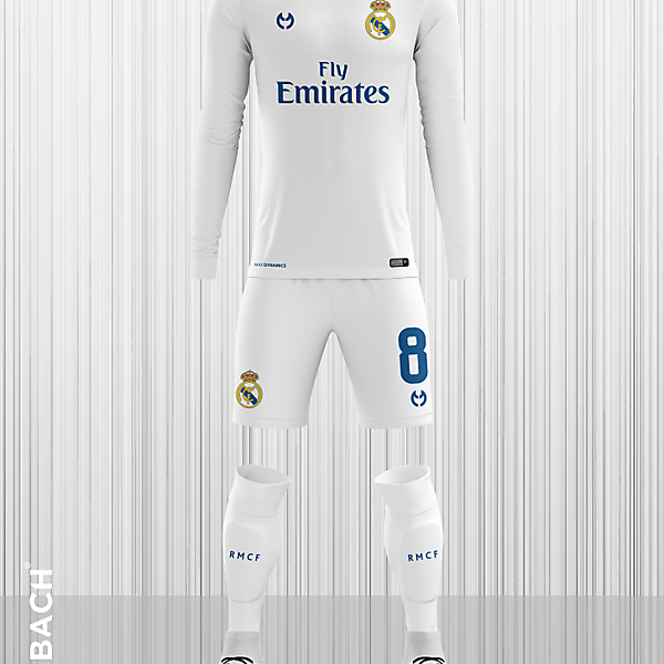 Real Madrid 2019-2020 Home Kit
