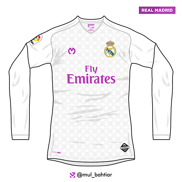 Real Madrid 2020/2021 Mulbach Home Jersey Comcept