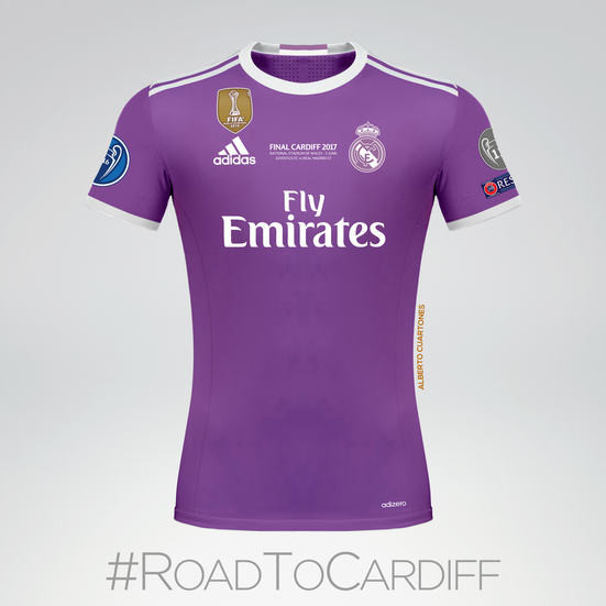 Real Madrid | Final Cardiff 2017 Jersey
